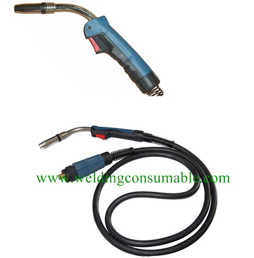 24KD Air Cooled MIG MAG Welding Torch
