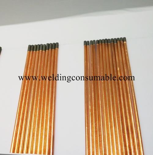 Half Round Carbon Electrode / Gouging Carbon Rods